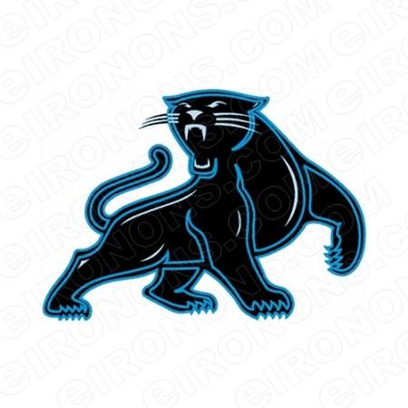 Carolina Panthers Logo Sports Nfl Football T Shirt Iron On Transfer
