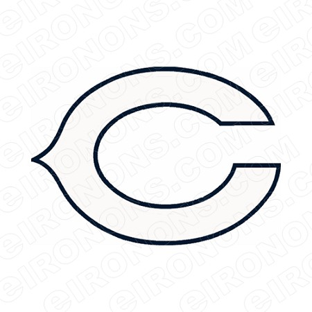 CHICAGO BEARS PRIMARY LOGO 1962-1973 SPORTS NFL FOOTBALL T-SHIRT IRON-ON TRANSFER DECAL #SFBCB8
