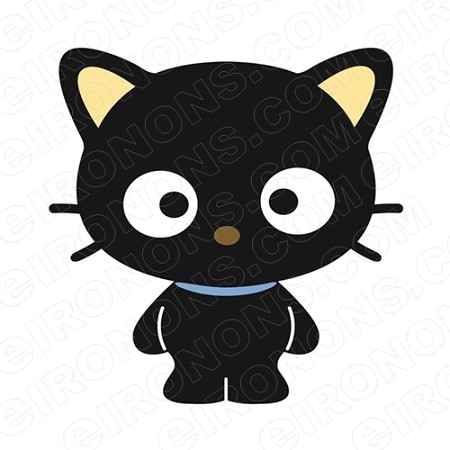 CHOCOCAT STANDING CHARACTER T-SHIRT IRON-ON TRANSFER DECAL #CCC6