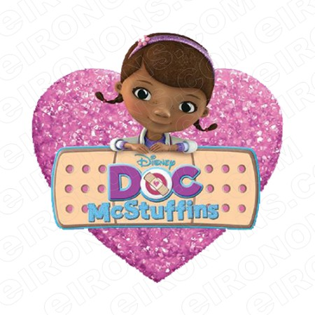 DOC MCSTUFFINS LOGO CHARACTER T-SHIRT IRON-ON TRANSFER DECAL #CDM3
