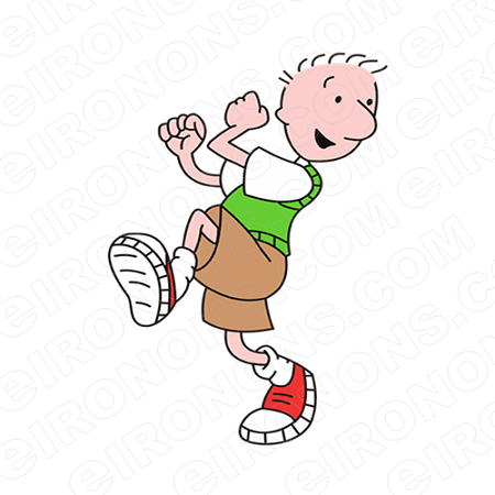 DOUG READY TO RUN CHARACTER T-SHIRT IRON-ON TRANSFER DECAL #CD5