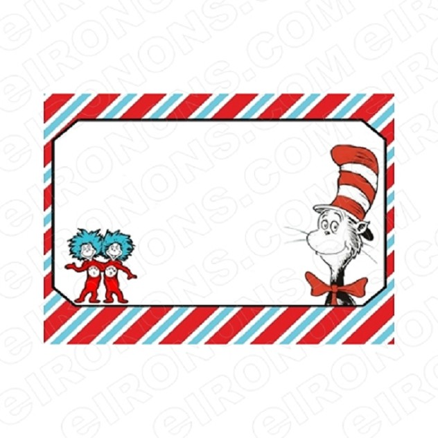 DR SEUSS BLANK EDITABLE INVITATION INSTANT DOWNLOAD #IDS9