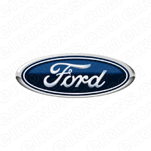 FORD LOGO AUTO T-SHIRT IRON-ON TRANSFER DECAL #AFL1