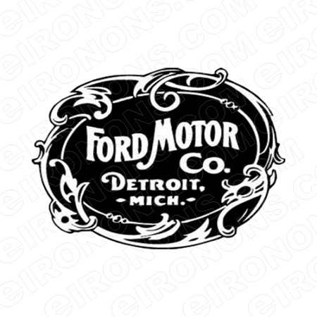 FORD LOGO AUTO T-SHIRT IRON-ON TRANSFER DECAL #AFL3