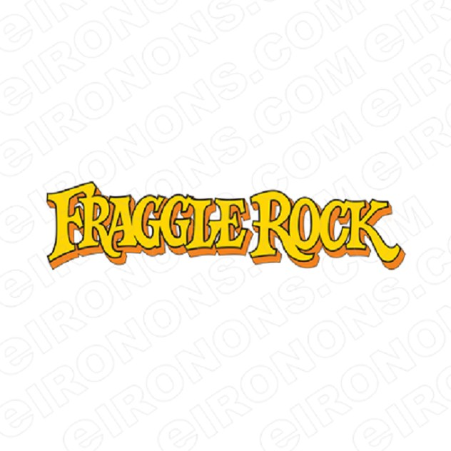 FRAGGLE ROCK LOGO CHARACTER T-SHIRT IRON-ON TRANSFER DECAL #CFR5