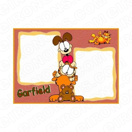 GARFIELD BLANK EDITABLE INVITATION INSTANT DOWNLOAD #IG5