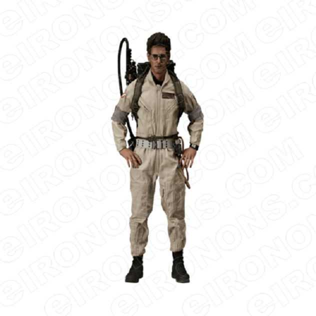 GHOSTBUSTERS EGON SPENGLER MOVIE T-SHIRT IRON-ON TRANSFER DECAL #MGB2