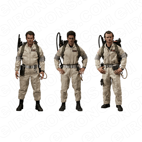 GHOSTBUSTERS GROUP POSE 1 MOVIE T-SHIRT IRON-ON TRANSFER DECAL #MGB3