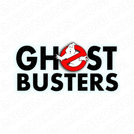 GHOSTBUSTERS LOGO MOVIE T-SHIRT IRON-ON TRANSFER DECAL #MGB2