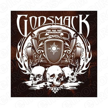 GODSMACK MUSIC T-SHIRT IRON-ON TRANSFER DECAL #MGS5