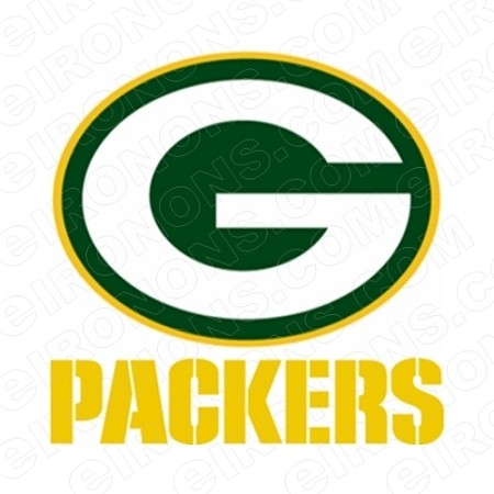 GREEN BAY PACKERS G AND YELLOW LOGO SPORTS NFL FOOTBALL T-SHIRT IRON-ON TRANSFER DECAL #GBP10
