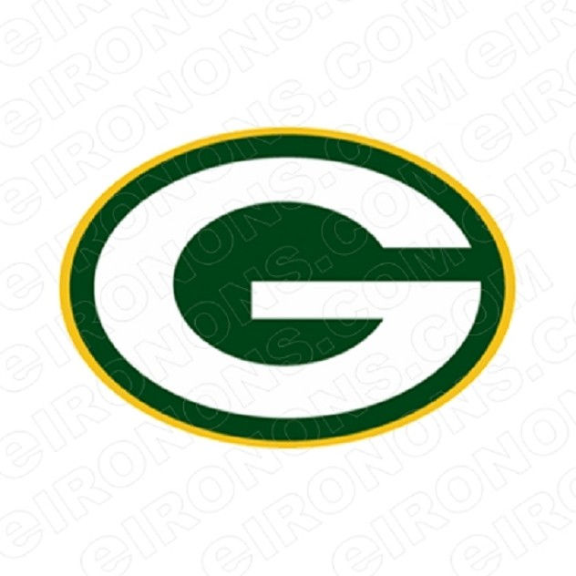GREEN BAY PACKERS G LOGO SPORTS NFL FOOTBALL T-SHIRT IRON-ON TRANSFER DECAL #GBP2