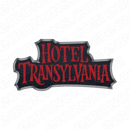 HOTEL TRANSYLVANIA LOGO MOVIE T-SHIRT IRON-ON TRANSFER DECAL #MHT1