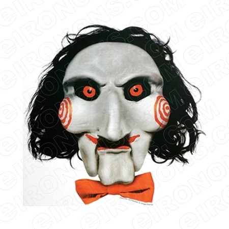 JIGSAW BIG HEAD SAW MOVIE T-SHIRT IRON-ON TRANSFER DECAL #MS1