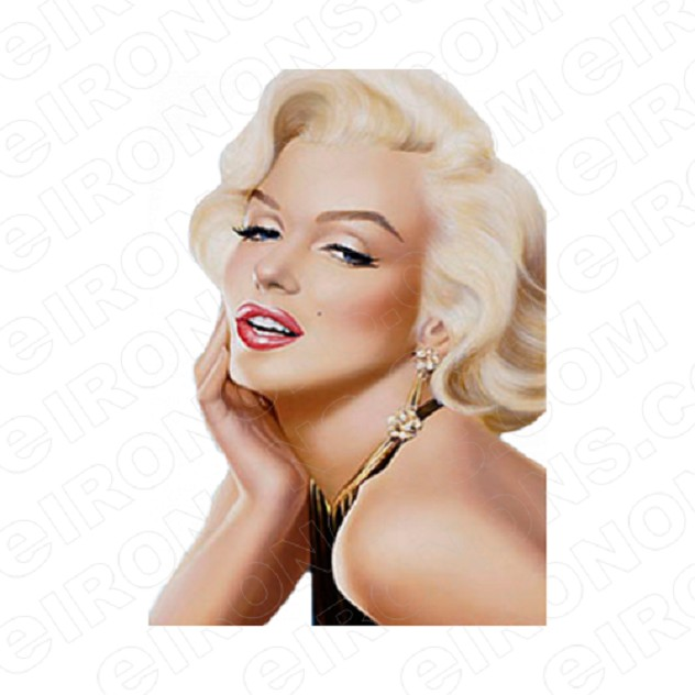 MARILYN MONROE SIDE VIEW TV T-SHIRT IRON-ON TRANSFER DECAL #TVMMR5
