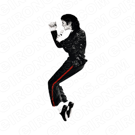 MICHAEL JACKSON TIP TOE MUSIC T-SHIRT IRON-ON TRANSFER DECAL #MMJ12