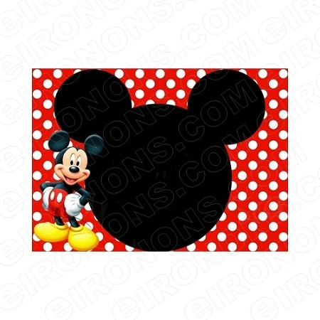mickey mouse blank editable invitation instant download imm2