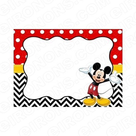 MICKEY MOUSE BLANK EDITABLE INVITATION INSTANT DOWNLOAD #IMM4