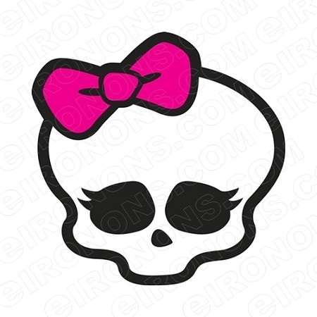 MONSTER HIGH BIG HEAD CHARACTER T-SHIRT IRON-ON TRANSFER DECAL #CMH1