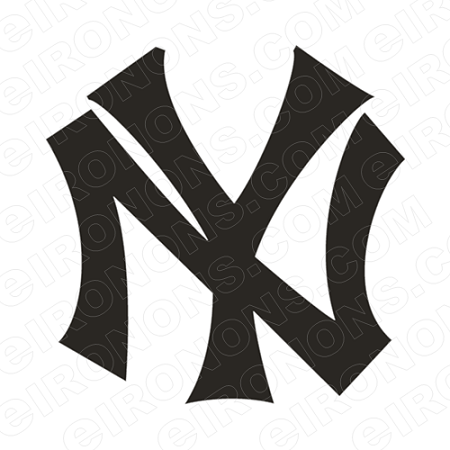 NEW YORK YANKEES PRIMARY LOGO 1913-1914 SPORTS MLB BASEBALL T-SHIRT IRON-ON TRANSFER DECAL #SBBNYY1