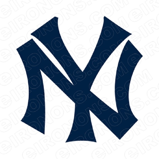 NEW YORK YANKEES PRIMARY LOGO 1915-1946 SPORTS MLB BASEBALL T-SHIRT IRON-ON TRANSFER DECAL #SBBNYY2