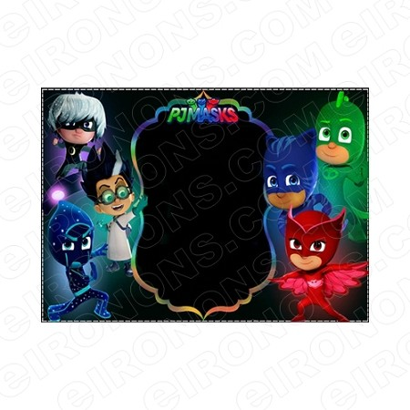 PJ MASKS BLANK EDITABLE INVITATION INSTANT DOWNLOAD #IPJM4