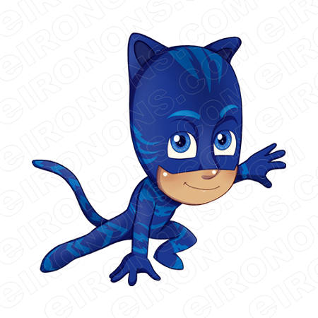 PJ MASKS CATBOY CHARACTER T-SHIRT IRON-ON TRANSFER DECAL #CPJM4