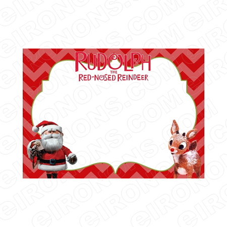RUDOLPH THE RED NOSED REINDEER BLANK EDITABLE CHRISTMAS HOLIDAY INVITATION INSTANT DOWNLOAD #IR1