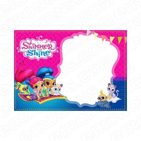 SHIMMER AND SHINE BLANK EDITABLE INVITATION INSTANT DOWNLOAD #ISAS3