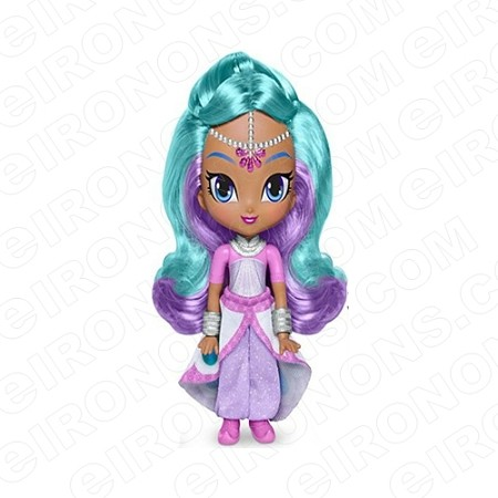 SHIMMER AND SHINE EMPRESS SAMIRA CHARACTER T-SHIRT IRON-ON TRANSFER DECAL #CSAS3