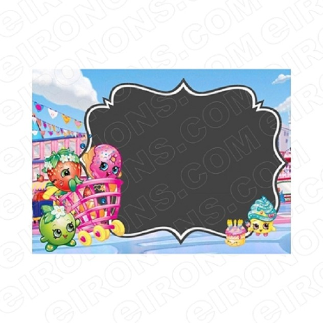 SHOPKINS BLANK EDITABLE INVITATION INSTANT DOWNLOAD #IS2 ...