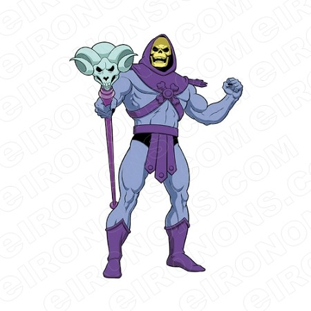 SKELETOR MAD HE-MAN COMIC T-SHIRT IRON-ON TRANSFER DECAL #CHM7