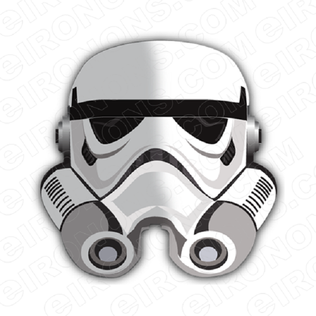 STAR WARS REBEL BIG HEAD MOVIE T-SHIRT IRON-ON TRANSFER DECAL #MSW8