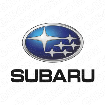 SUBARU LOGO AUTO T-SHIRT IRON-ON TRANSFER DECAL #AS1