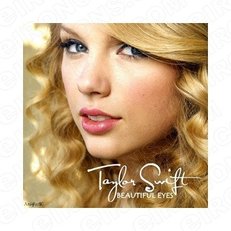 TAYLOR SWIFT BEAUTIFUL EYES MUSIC T-SHIRT IRON-ON TRANSFER DECAL #MTS1