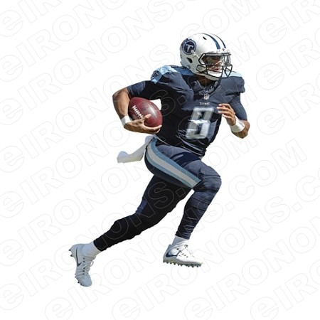 TENNESSEE TITANS MARCUS MARIOTA SPORTS NFL FOOTBALL T-SHIRT IRON-ON TRANSFER DECAL #TT1