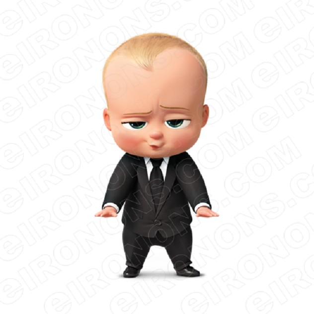 THE BOSS BABY HANDS OUT FRONT VIEW CHARACTER T-SHIRT IRON-ON TRANSFER DECAL #CTBB2
