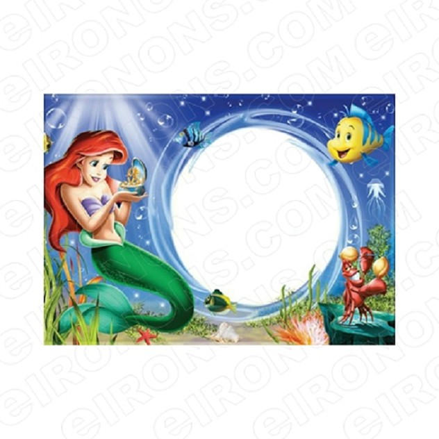 THE LITTLE MERMAID BLANK EDITABLE INVITATION INSTANT DOWNLOAD #ITLM3