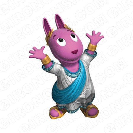 THE BACKYARDIGANS AUSTIN GOD OF LAUGHTER CHARACTER T-SHIRT IRON-ON TRANSFER DECAL #CTBY21