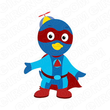 THE BACKYARDIGANS SUPERHERO PABLO CHARACTER T-SHIRT IRON-ON TRANSFER DECAL #CTBY25