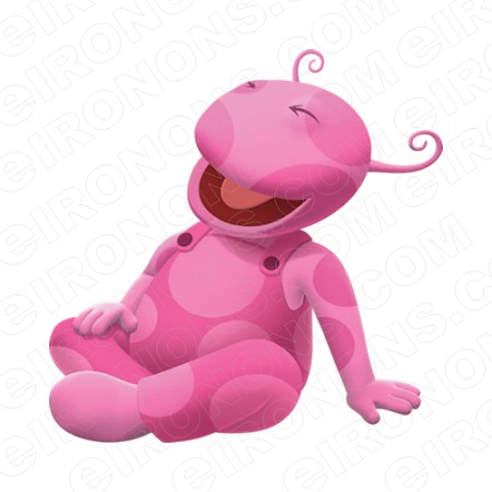 THE BACKYARDIGANS UNIQUA LAUGHING CHARACTER T-SHIRT IRON-ON TRANSFER DECAL #CTBY19