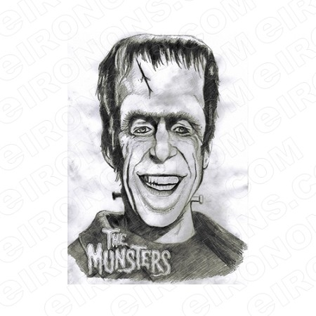 THE MUNSTERS HERMAN MOVIE TV T-SHIRT IRON-ON TRANSFER DECAL #TM5