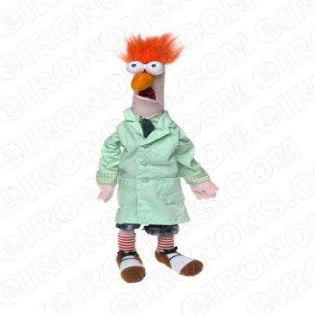 THE MUPPETS BEAKER STANDING TV T-SHIRT IRON-ON TRANSFER DECAL #TVTM7