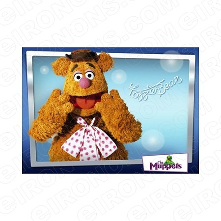 THE MUPPETS FOZZIE BEAR TV T-SHIRT IRON-ON TRANSFER DECAL #TVTM8