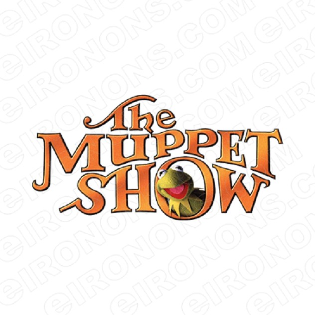 THE MUPPETS LOGO TV T-SHIRT IRON-ON TRANSFER DECAL #TVTM16