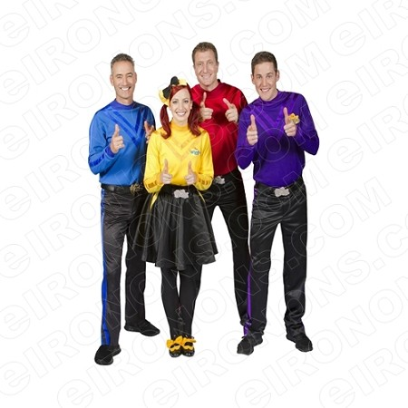 THE WIGGLES GROUP POSE CHARACTER T-SHIRT IRON-ON TRANSFER DECAL #CTW4