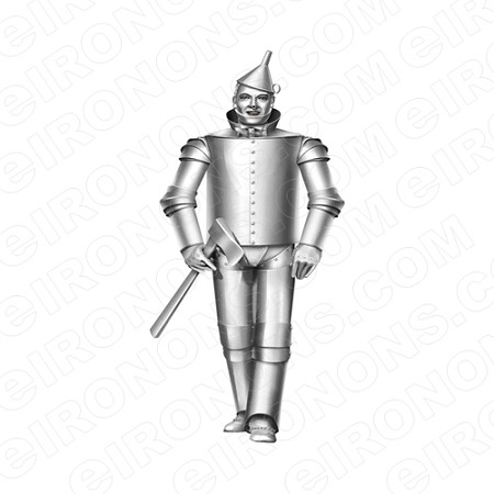 THE WIZARD OF OZ TIN MAN MOVIE T-SHIRT IRON-ON TRANSFER DECAL #MWOO7