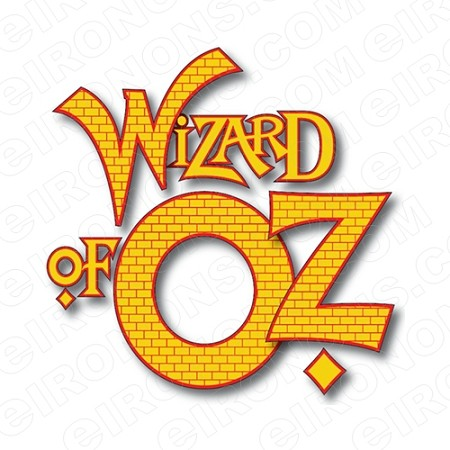THE WIZARD OF OZ LOGO MOVIE T-SHIRT IRON-ON TRANSFER DECAL #MWOO10