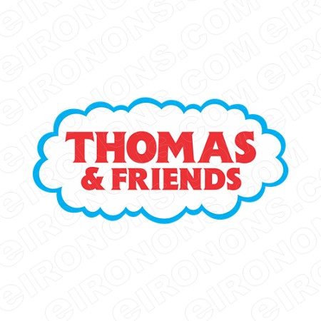 THOMAS & FRIENDS LOGO CHARACTER T-SHIRT IRON-ON TRANSFER DECAL #CTAF4