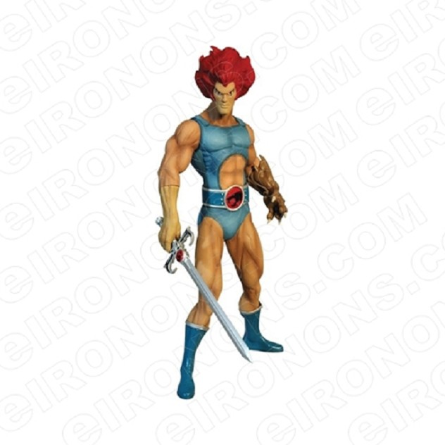 THUNDERCATS LION-O COMIC T-SHIRT IRON-ON TRANSFER DECAL #CTC5